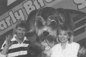 1986 - Monty mascot appeared on Early Bird Show  and Royal Melbourne Show